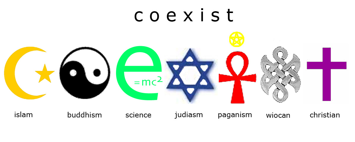 all religions coexist